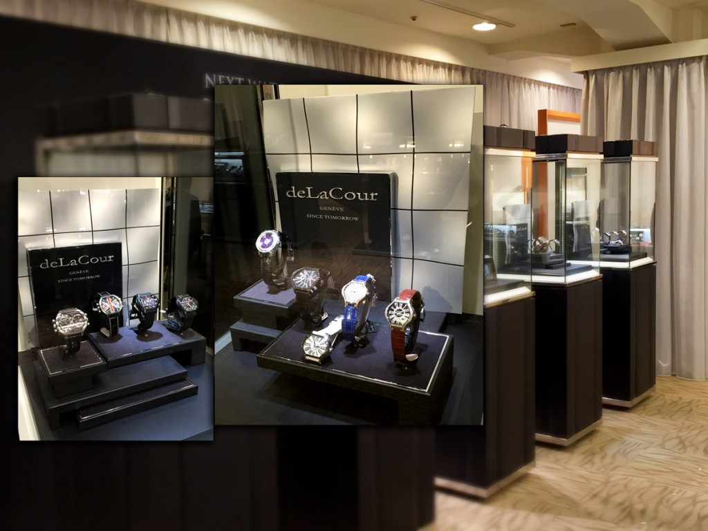 deLaCour at Seibu Shibuya department store in Tokyo