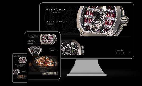deLaCour's new official website